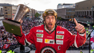 Photo of Joel Lundqvist årets forward i SHL